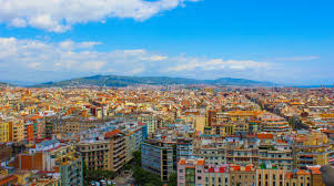 barcelona city view image result for barcelona spain from helicopter