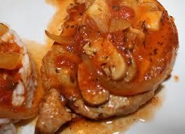 cuisiner cote de porc côte de porc à la provencale les délices de letiss