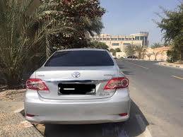 2013 model toyota corolla toyota corolla 2013 model 1 6 toyota used cars in uae carnity