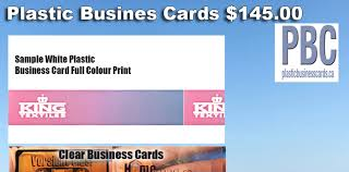 Clear Business Cards Canada Digitalprinting Directory U2014 Video Pictures Frosted Plastic
