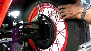 model a ford brake adjustment youtube