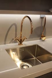 Gold Kitchen Sink New Kitchen Sink Styles Showcased At Eurocucina Gold Kitchen Sink