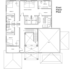 perfect house architecture plan lshaped basic design add rooms as
