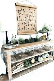Rustic Entry Table Rustic Pallet Wood Entry Table Rustic Entry