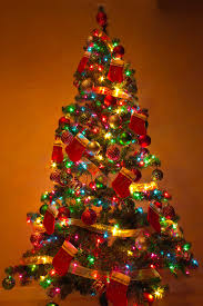 christmas tree with lights 40 christmas tree lights decorations ideas light decorations