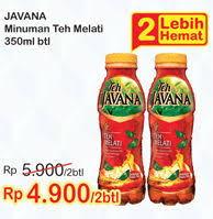 Teh Javana 350ml promo harga javana minuman ringan terbaru minggu ini hemat id