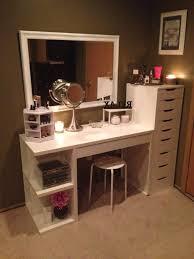 Black Vanity Table Ikea Best 25 Ikea Vanity Table Ideas On Pinterest Makeup Vanity