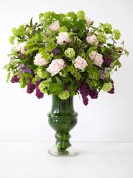 Vases Of Roses Classic Beauty A Rose And Lilac Vase Hgtv
