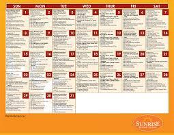 activities u0026 programs sunrise senior living
