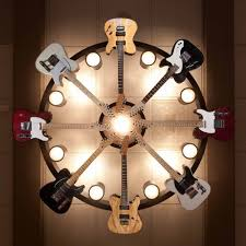 Chandeliers At Target 6 Fender Guitar Chandelier In Brad Paisley U0027s The Paisley Lodge A
