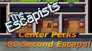 center perks 60 second escape the escapists xbox one youtube