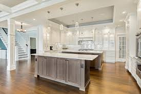 kitchen island styles transitional design line kitchens in sea girt nj