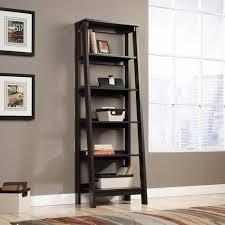 Sauder Bookcase Sauder Trestle 5 Shelf Bookcase Jamocha Wood Walmart