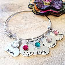 mothers day jewelry personalized mothers day bracelet mothers day gift mothers day jewelry