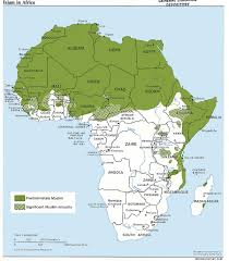 Azimuthal Map Africa Maps