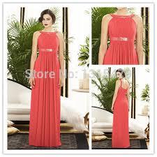 online get cheap dresses long peach aliexpress com alibaba group