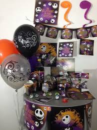 nightmare before christmas party supplies the nightmare before christmas happy birthday party pack supplies