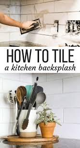 how to tile a kitchen backsplash how to install a subway tile backsplash tips tricks