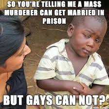 Charles Manson Meme - when i heard that charles manson is getting married meme on imgur