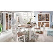 Wohnzimmerschrank Verschieben Buffet Akazie Weiß Braun Buffetschrank Massiv Vitrine Massivholz