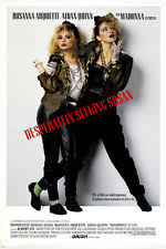 Seeking Vf Madonna Desperately Seeking Susan Repro Poster Ebay