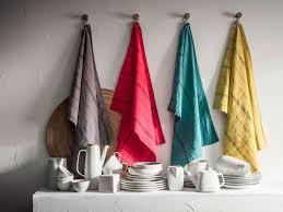 torchons cuisine linge de maison serviette nappe et torchon tendance pour la