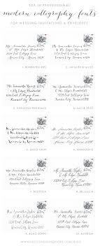 wedding invitations font wedding wedding invitation fonts best calligraphic envelope