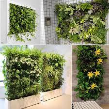amazon com wall hanging planter grows bags awakingdemi vertical
