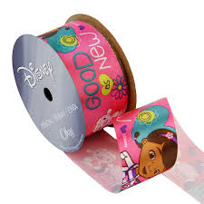 doc mcstuffins ribbon offray doc mcstuffins craft ribbon 1 2 inch by 9