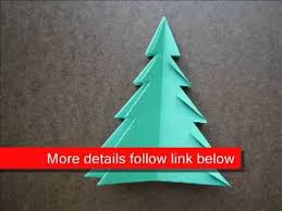 paper folding origami tree 1