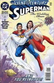 superman wedding album