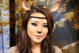 Diy Makeup Halloween by Deer Makeup Tutorial Halloween 2013 From Head To Toe