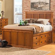 bedroom queen storage bed with bookcase headboard full size nice