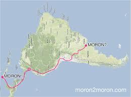 As The Crow Flies Map Moron2moron U2026 Ii Mörön 2 мөрөн