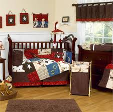 sock monkey baby bedding for beautiful baby room decoration