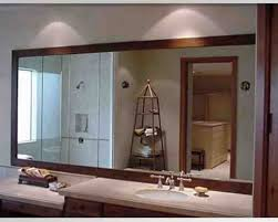 Bathroom Mirror Design Ideas by Long Bathroom Mirrors Decor Ideas Intended For How To Choose