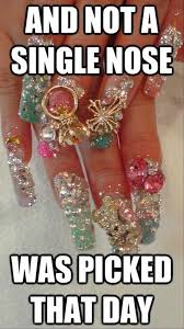Nail Tech Meme - funny jewels for your hands dump a day