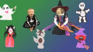 Great Family Halloween Costumes Finger Family Halloween Song Fun Halloween Song For Kids