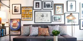 How To Hang Posters Without Damaging Walls by How To Create The Perfect Gallery Wall Huffpost