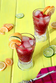 red cocktails red sangria