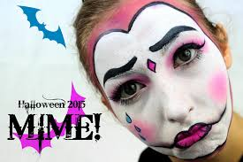 Halloween Mime Makeup by Mime