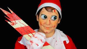 evil elf on the shelf makeup tutorial youtube