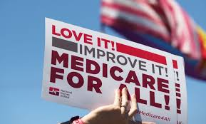 bernie s army 24 organizations with millions of members vow to people rally in favor of single payer healthcare for all californians as the us senate