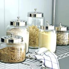 clear canisters kitchen tea coffee sugar jars lace ceramic home kitchen office storage tea
