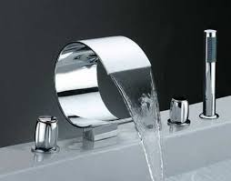 cool bathroom sink sink faucet design silver curve modern faucets bathroom unique