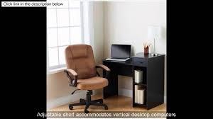 Mainstays Student Desk Instructions Mainstays Student Computer Desk Youtube