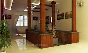 Small Courtyard Design Center Courtyard For Kerala Home Wooden Pillers Small Courtyard