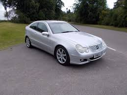 2005 05 mercedes c180 kompressor se 1 8 coupe mot june 2018 in