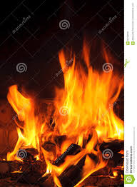 burning firewood in the fireplace closeup stock photo image