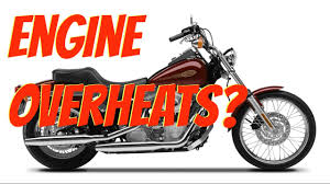 harley softail overheating engine running too youtube